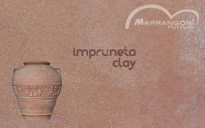 Terracotta di Impruneta, the most famous and frost resistant