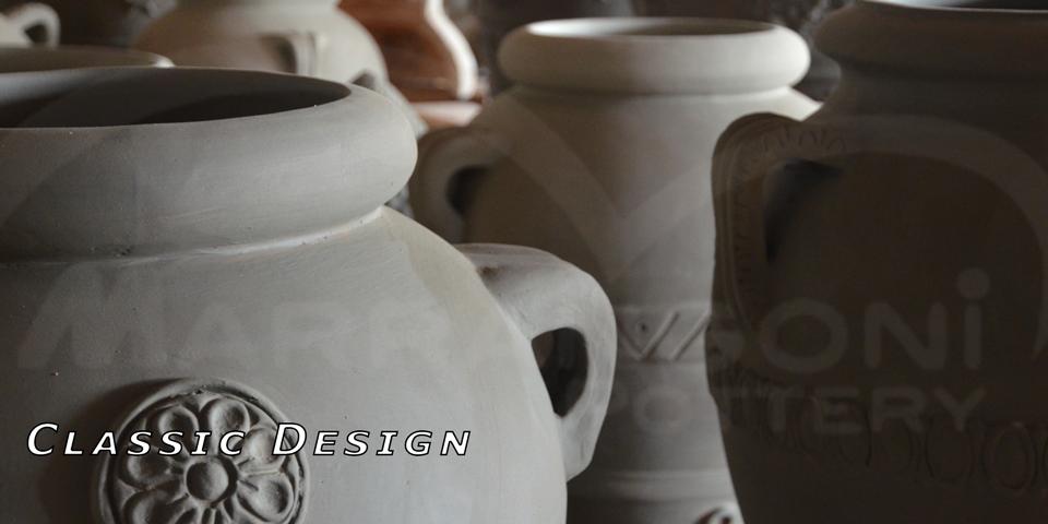 Terracotta modelli design classico toscana